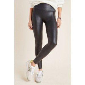 Spanx   Faux Leather High Rise Leggings Black (M)